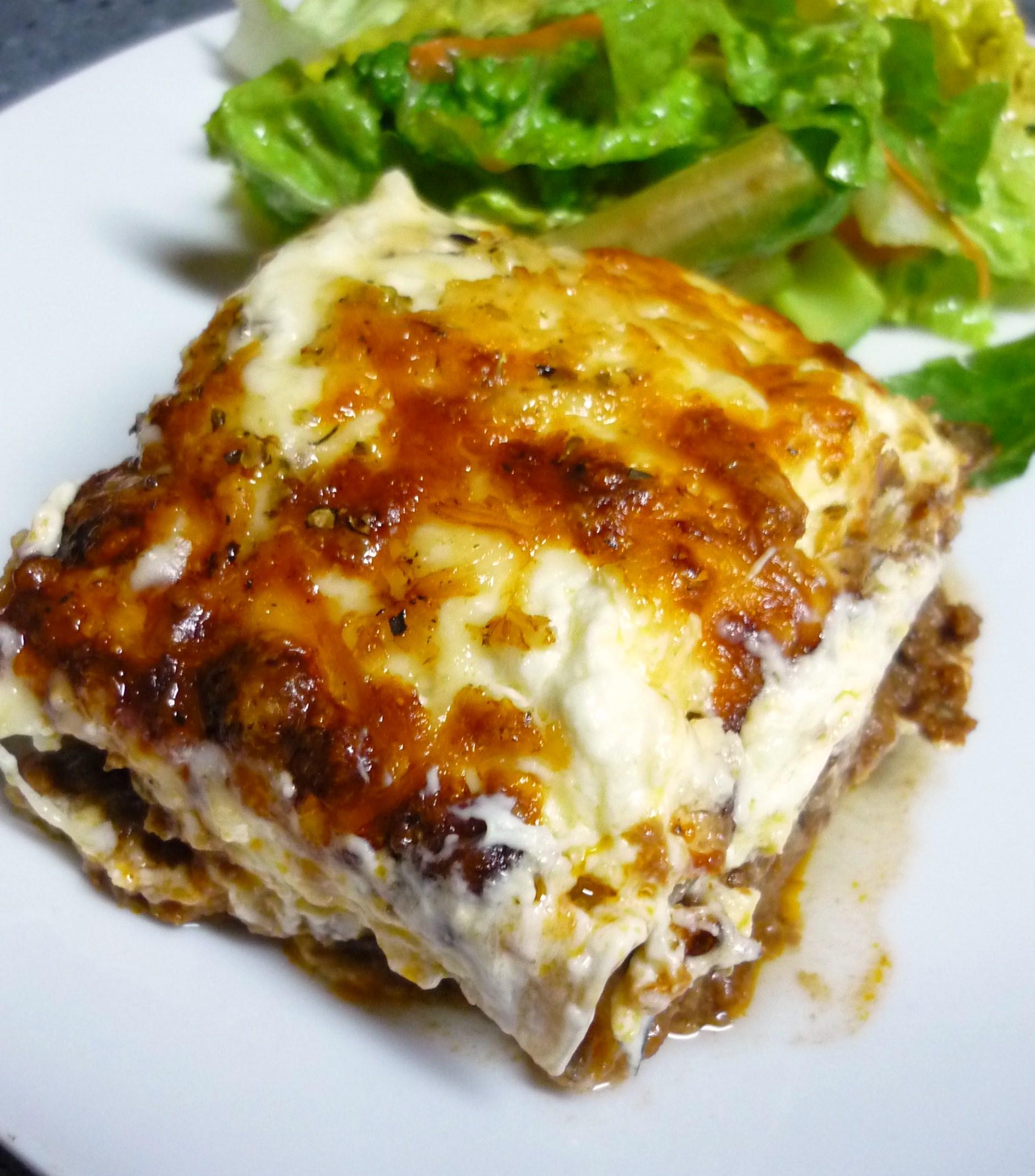 Three Cheese Lasagna Things My Belly Likes