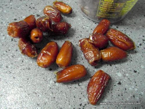 dates - look weird, taste great