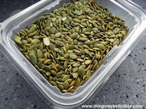 factoid: pumpkin seeds are high in zinc