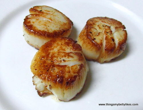 when I win the lottery, it'll be scallops for every meal
