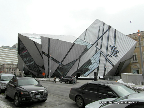 the Royal Ontario Museum, really wanted to go but we didn't have time. There are dinosaurs!