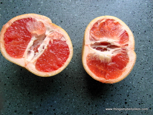 the grapefruit was first bred in Barbados - if it could speak it would have a hilarious Caribbean accent