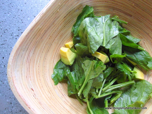 you could mix it up with different greens such as arugula