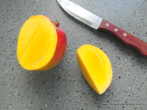 mango is full of fibre and vitamin C