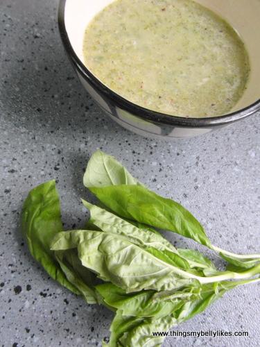 basil and broccoli, a winning combo