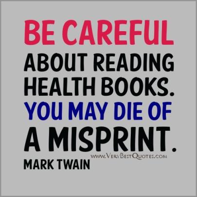 Mark Twain, telling it like it is