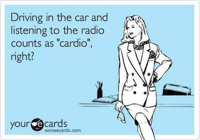 yeah, I'm not a cardio fan