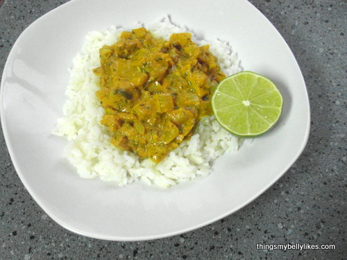 curry is my comfort food