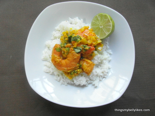 if you don't eat rice, serve over sweet potato