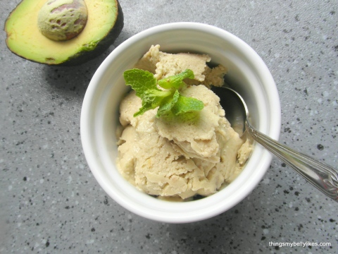 don't worry - you can't taste the avocado. It just makes it creamy!
