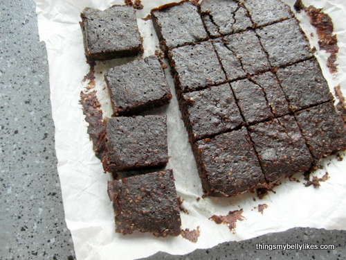 moist, flourless and gluten-free - I have achieved the holy grail of guiltless brownies