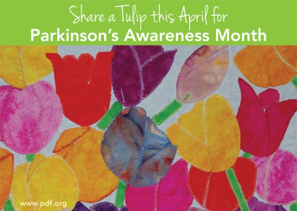 artwork by Penny Teem, image courtesy the Parkinson's Disease Foundation