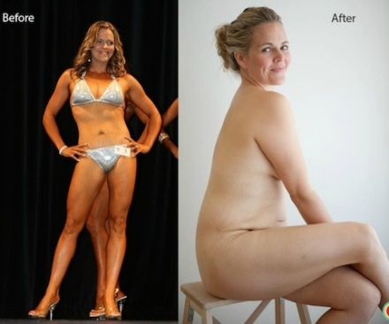 Taryn's beautiful bod - before and after