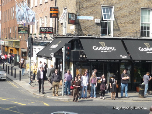 a busy Dublin pub - is there any other kind?!