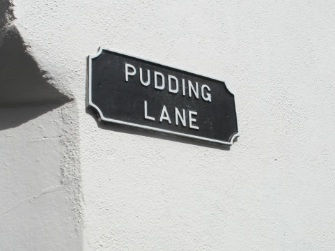 this one made me laugh - Pudding Lane in Kilkenny. Shortly afterwards I went to get an ice cream. Had to be done.