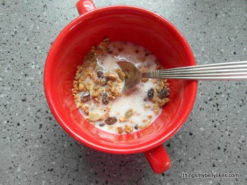 cinnamon nut with coconut milk!