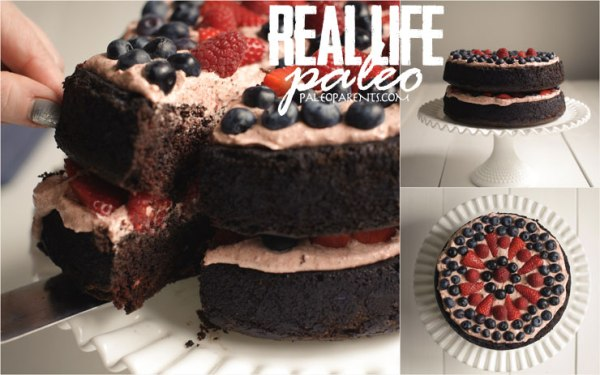 cake! Paleo cake!