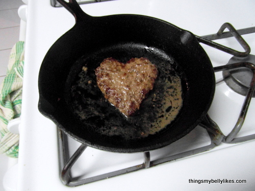 frying in cast iron gives the meat a better flavour (don't ask me why - culinary magic)